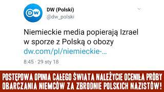 Komunikat Ministerstwa Prawdy nr 684: Niemcy i Izrael w walce o polskość obozów