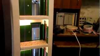 Макет пассажирского лифта(Макет пассажирского лифта КМЗ грузоподъёмностью 320 кг. Макет ещё не закончен, в дальнейшем лифт будет работ..., 2012-07-24T20:49:22.000Z)