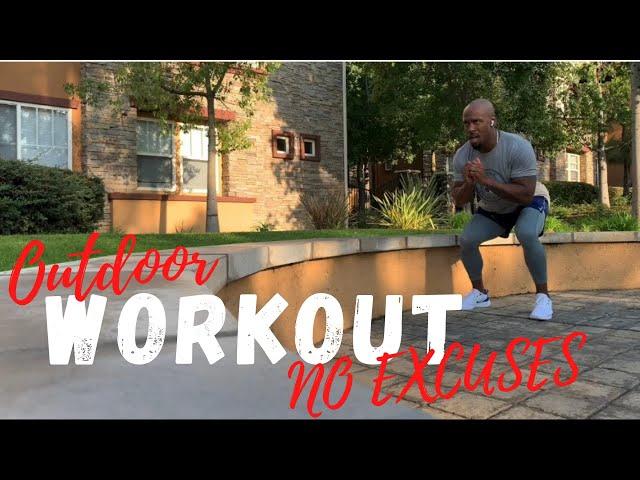 Outdoor Workout Program | No Gym No Problem | No Excuses