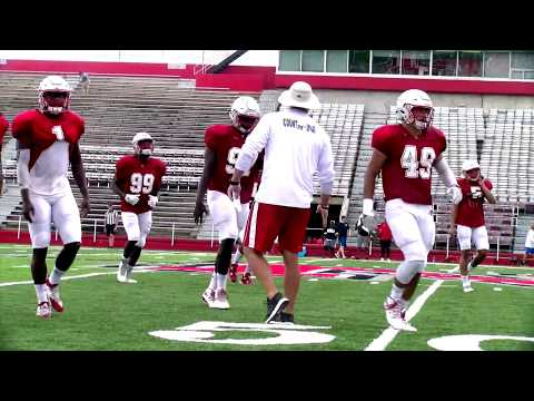 Nicholls Football: First Scrimmage Of 2017 Fall Camp!