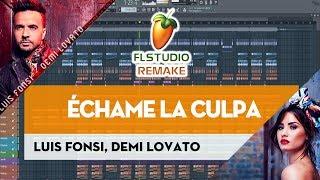 Luis Fonsi Demi Lovato chame La Culpa Instrument REMAKE FLP.mp3