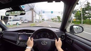 "【Test Drive】2017 TOYOTA COROLLA Axio HYBRID ""W×B"" - POV City Drive"
