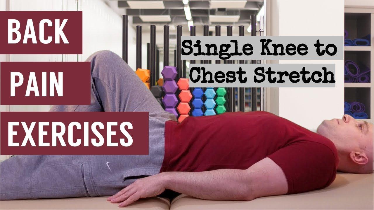 Single side lower back pain
