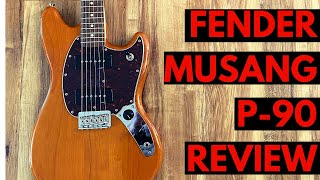 Review of the Fender Mustang 90 Electric Guitar | Is This Guitar For You?