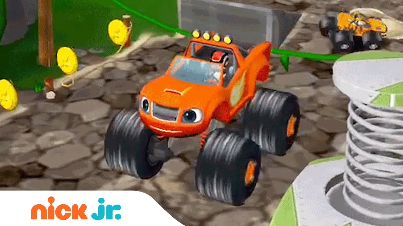 Blaze And The Monster Machines Racing Game Walkthrough Jr Gamers Preschool App Ad Nick Jr Youtube