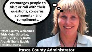 Lion News: Itasca Co. Administrator Trish Klein Aids & Abets Williams & Muhar In Crimes Part 2?
