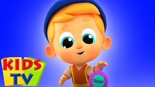 мойте руки развивающий мультфильм обучающие Kids Tv Russia детские песни