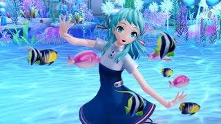 ウミユリ海底譚 (Umiyuri Kaiteitan ・ Tale of the Deep-sea Lily) 作詞‧作曲:n-buna Module:シー・リリィ(Sea Lily)