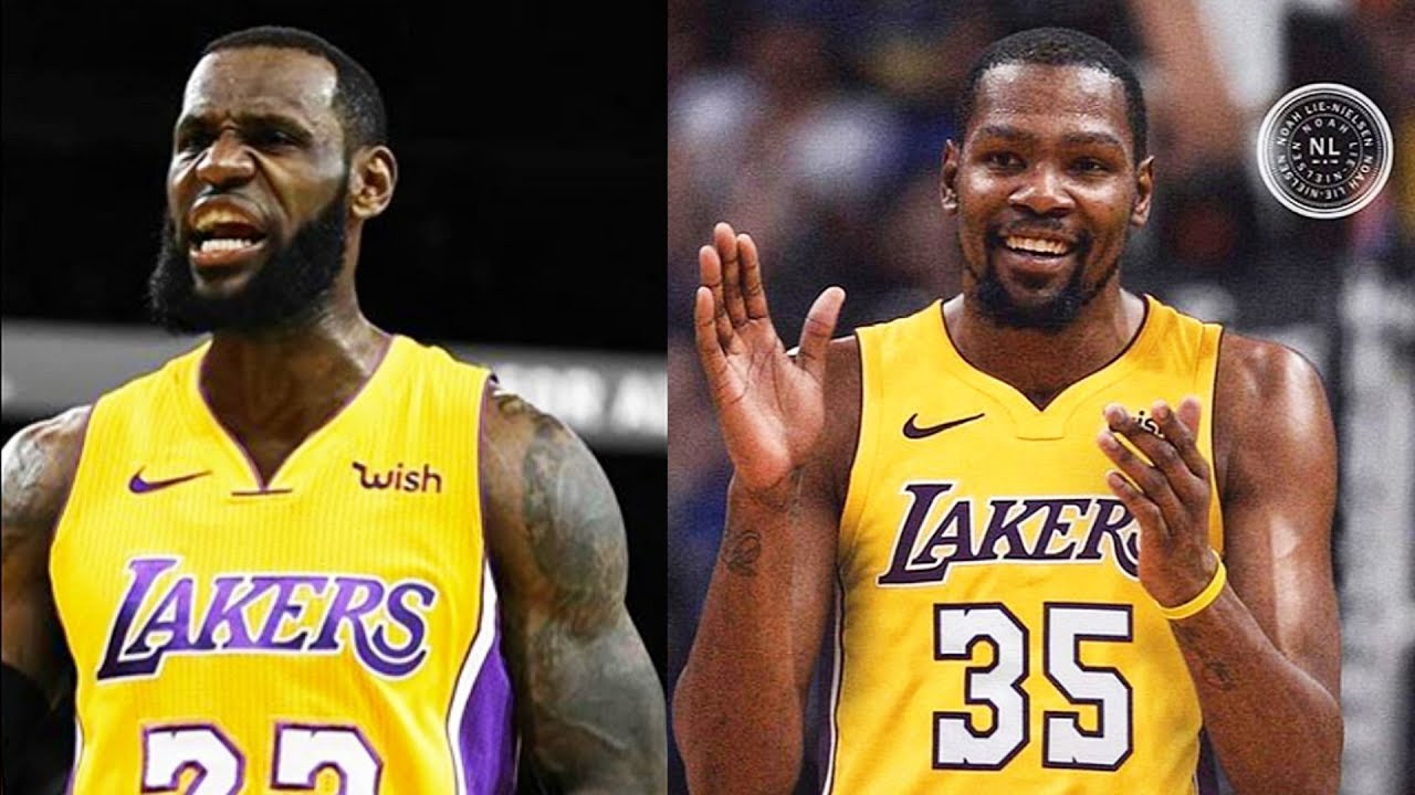 3517af735f7 LeBron James & Kevin Durant Joining Lakers? Stephen A. Smith Says LeBron &  Durant Are Texting