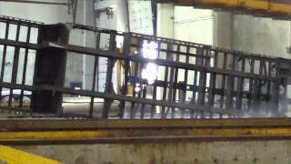 Video still for Galvanizing a Felling Semi Trailer