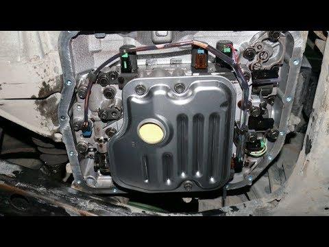 АКПП камри 40. Замена масла в коробке. Как менять,что залить, фильтр. Владею 5 лет.