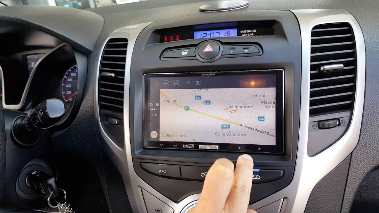 Monitor Navigatore Hyundai Ix20 Youtube
