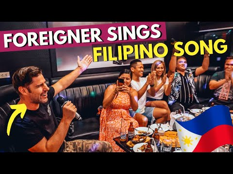FOREIGNER Sings FILIPINO SONG On First KTV Experience In The PHILIPPINES