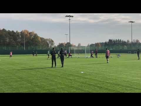 Obrazki z treningu piłkarzy Legii