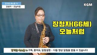 장청자 [오늘처럼] 색소폰연주