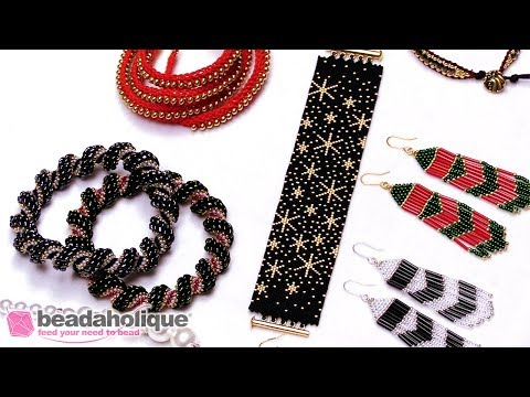 Show and Tell: Exclusive Beadaholique Jewelry Kits – Holiday Edition