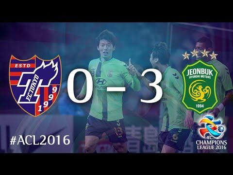 FC TOKYO vs JEONBUK HYUNDAI MOTORS: AFC Champions League 2016 (Group Stage)