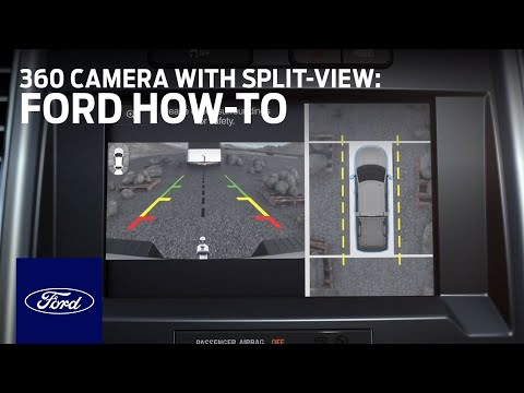 360 Camera With Split View Display Ford How To Ford