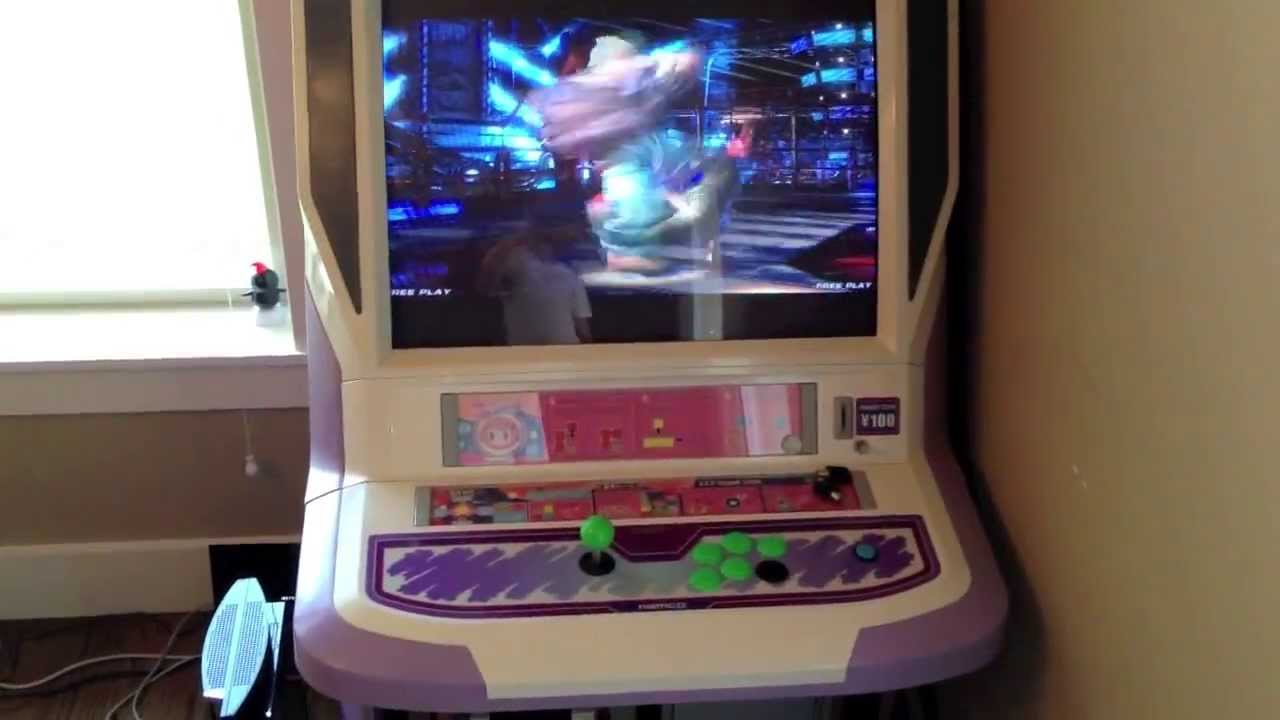 Ps3 Tekken Tag Tournament 2 Running On Namco Cyber Lead Arcade