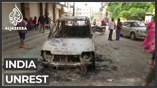 Deadly clashes in India's Bengaluru over Facebook post on Prophet|Al Jazeera English