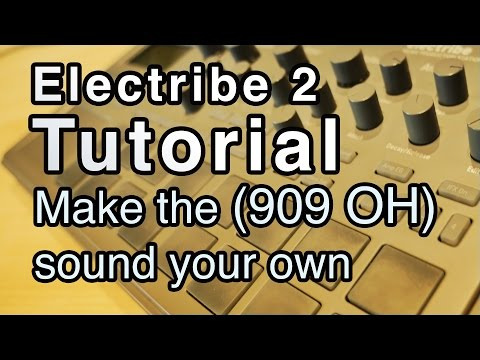 Korg Electribe 2 Tutorial   Make the sounds your own