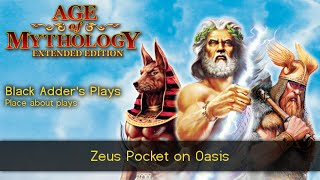 zeus pocket on oasis 3v3 team game age of mythology extended edition