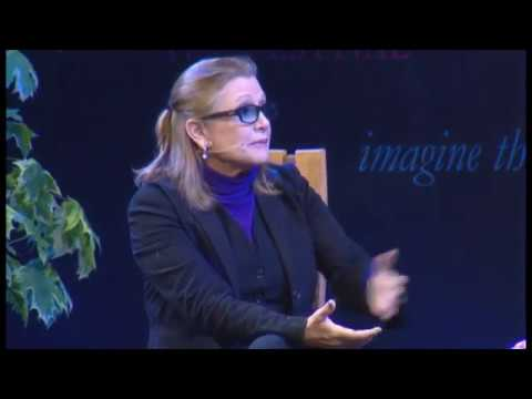Carrie Fisher Interview At Hay Festival (2014)