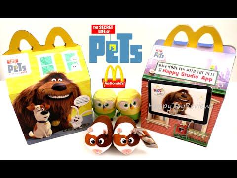 2016 Mcdonald S The Secret Life Of Pets Movie Happy Meal