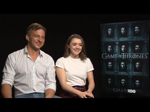 Game of Thrones - Season 6 cast interviews: Maisie Williams, Isaac Hempstead Wright and more