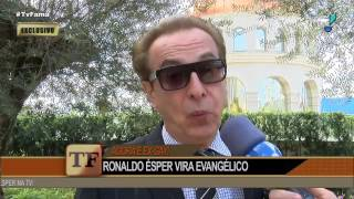 Ronaldo Ésper esclarece polêmica de ter roubado vasos em cemitério