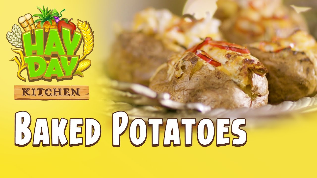 Hay Day Kitchen - Baked Potatoes 🥔😋