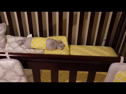 Dream On Me Ashton 5-in-1 Crib - Set Up
