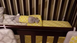 Dream On Me Ashton 5-in-1 Crib - Set Up