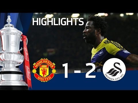 MANCHESTER UNITED vs SWANSEA CITY 1-2: Official Goals & Highlights FA Cup Third Round