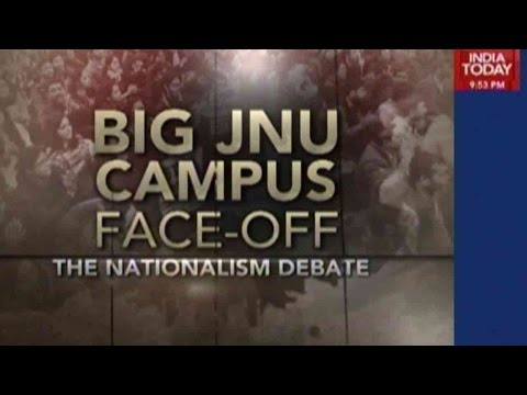 Nationalism Debate: Big JNU Campus Face-Off