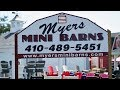 Myers Mini Barns   Lisbon MD in 4k UHD