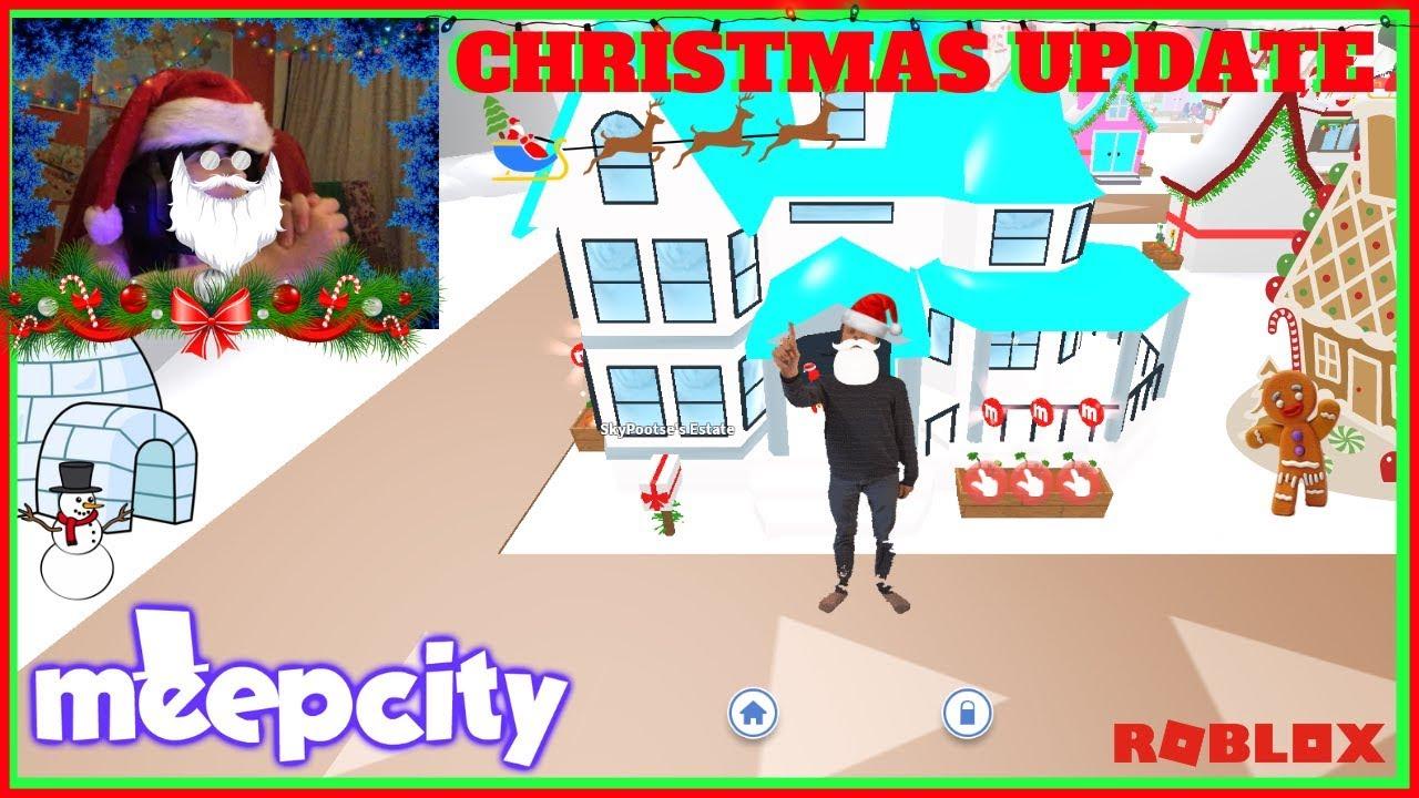 The Christmas Shopping Spree X Mas Update Showcase Roblox Meep
