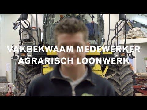 Praktijkleren: Vakbekwaam medewerker agrarisch loonwerk
