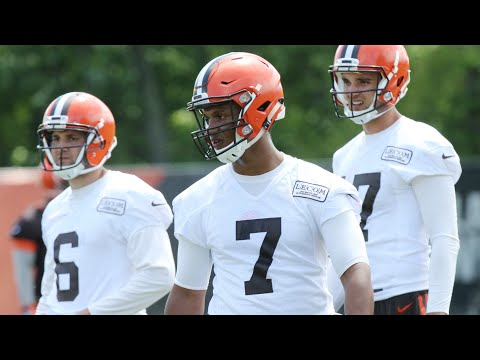 The Browns quarterback competition begins