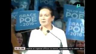 News@1: COMELEC, sinuspinde ang legal proceedings ng disqualification case vs. Sen. Poe