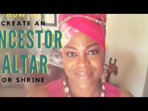 How To Create  An Ancestor (Ancestral) Altar