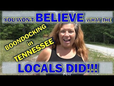 RV Life: Locals Pay Me a Visit at my Free Campsite in Tennessee