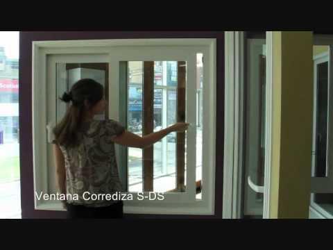 Ventana corrediza youtube for Ventanas de aluminio estandar ver precios