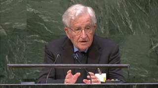 Ноам Чомски на Генеральной Ассамблее 14 октября 2014