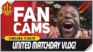 Manchester United 4-0 Chelsea Matchday Vlog Man Utd News