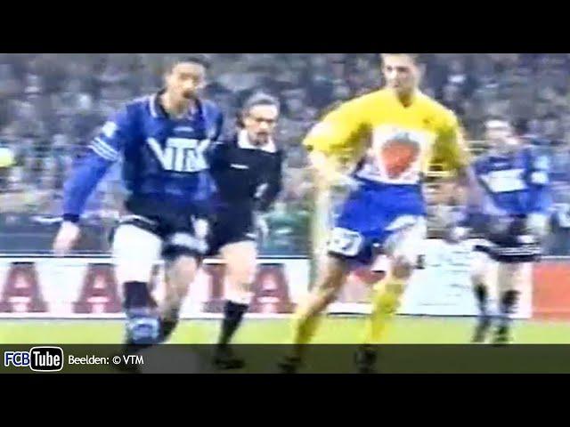 1995-1996 - Beker Van België - 05. Halve Finale - Sint-Truiden - Club Brugge 1-3