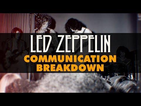 Led Zeppelin - Communication Breakdown (Official Audio)