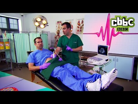 What happens when you need a wee? - Operation Ouch! On CBBC