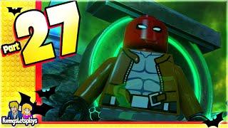 LEGO BATMAN 3 - Unlocking  The Atom, Wonder Girl and Red Hood!
