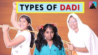TYPES OF DADI Funny Story for kids l Saas Bahu Aur Beti l Ayu And Anu Twin Sisters